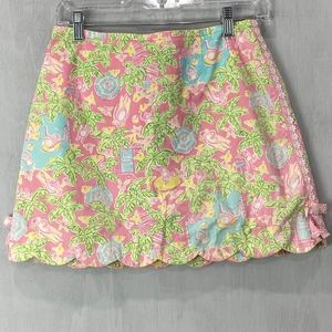 Vintage Lilly Pulitzer Lilly's B and B Skort